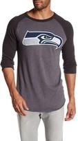 Junk Food Clothing Seattle Seahawks Raglan Tee