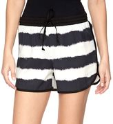 Juicy Couture Women's Tie-Dye Striped Soft Shorts