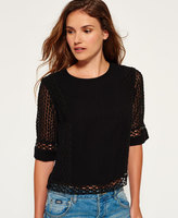 Superdry Analee Lacy Shell Top