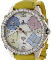 Jacob & co Five Time Zones MOP with Diamond Bezel Men's Watch