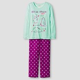 Girls' Long Sleeve Pajama Set Cat & Jack - Penguin