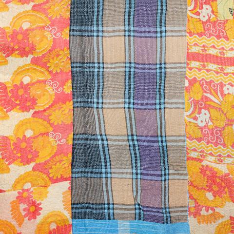 Fab Vintage Kantha Quilt
