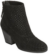 Aerosoles Suede Perforated Ankle Boots - VitalSign
