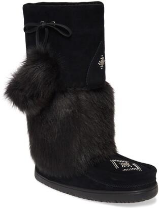 Manitobah Mukluks Snowy Owl Faux Fur Waterproof Snow Boot