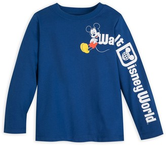 Disney Mickey Mouse Long Sleeve T-Shirt for Toddlers Walt World