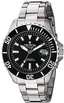 Croton Men's 'Winder' Stainless Steel Automatic Watch, Color:Silver-Toned (Model: CA301294BKWD)