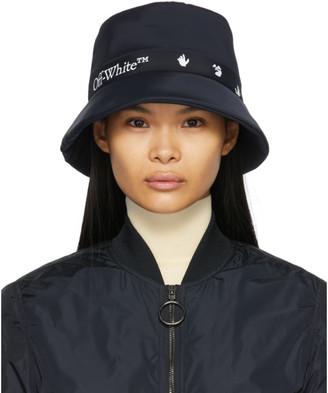 Off-White Black Logo Rain Hat