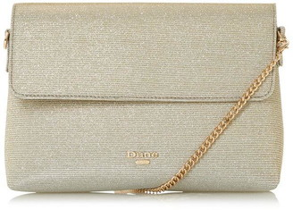 Dune London Beliza Soft Clutch With Flap