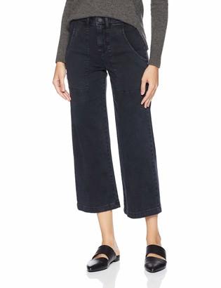 Hudson Women's Nico Mid Rise Straight Crop Cargo Pant