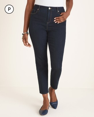 So Slimming Petite Girlfriend Ankle Jeans