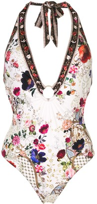 Camilla Floral-Print Swimsuit