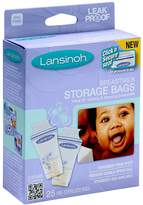 Lansinoh 20435 Breastmilk Storage Bags, 25-Count Boxes (Pack of 4)