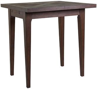 Artistica Ringo Extension Bistro Table - Marrone Brown