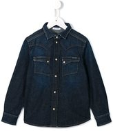 Dolce & Gabbana stonewashed denim shirt - kids - Cotton/Spandex/Elastane - 8 yrs