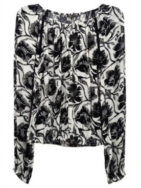 INC International Concepts Inc Floral-Print Peasant Top, Created for Macy's