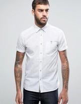 Ted Baker Short Sleeve Smart Shirt in Print