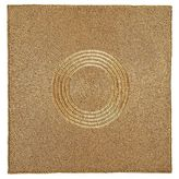 Pier 1 Imports Matte Golden Beaded Square Placemat