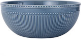 Mikasa Italian Countryside Accents Fluted Blue Vegetable Bowl