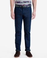 Ted Baker Tall slim fit printed hem jeans
