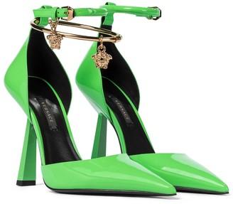 Versace Patent leather pumps