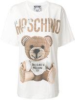 Moschino toy bear oversized T-shirt - women - Cotton - XXS