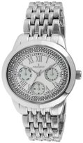 Peugeot Women's 7089S Analog Display Japanese Quartz Silver Watch