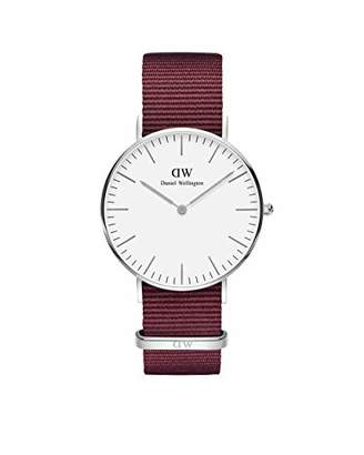 Daniel Wellington Classic Stainless Steel Japanese Quartz Watch with Nylon Strap