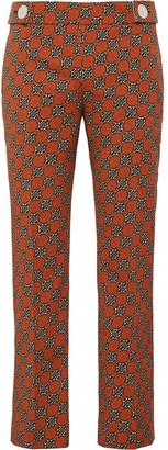 Prada Medallion motif cropped trousers