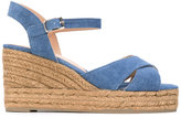 Castaner wedged sandals - women - Cotton/Leather/rubber - 38