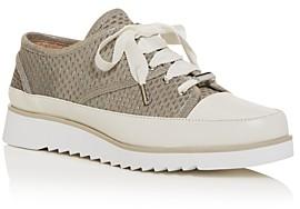 Donald J Pliner Women's Flipp Perforated Low-Top Platform Sneakers