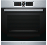 Bosch HBG673BS1B Built-In Single Oven, Brushed Steel