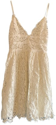 NBD White Lace Dress for Women