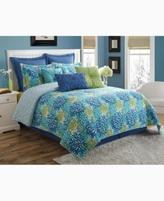 Fiesta Calypso Reversible King Comforter Set