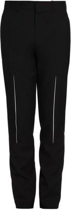 Alexander McQueen Slash Wool Trousers