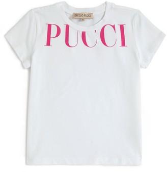 Emilio Pucci Junior Logo T-Shirt