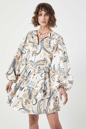 Witchery Linen Printed Dress