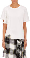 Public School Women's Brune Lace-Detailed Cotton T-Shirt