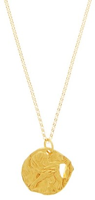 Alighieri Dog 24kt Gold-plated Necklace - Yellow Gold