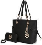 Mkf Collection By Mia K. MKF Collection by Mia K. Women's Satchels - Black Yale Tote & Wristlet