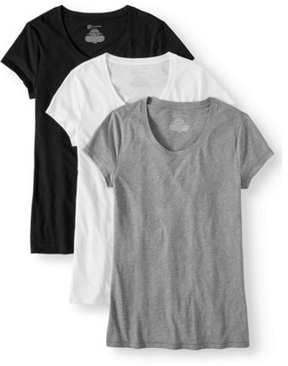 No Boundaries Juniors' Short Sleeve T-Shirt 3-Pack Value Bundle