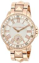 Vince Camuto Women's VC/5160GYRG Swarovski Crystal Accented Rose Gold-Tone Pyramid Bracelet Watch