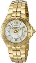 Technomarine Women's TM-715009 Sea Pearl 14K Gold-Plated Stainless Steel Watch