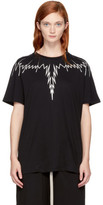 Marcelo Burlon County of Milan Black and White Erreish T-shirt