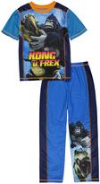 Komar Kids Kong Black & White Pajama Set - Boys