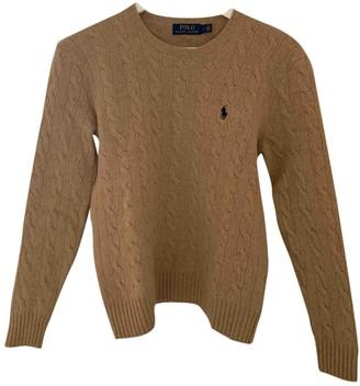 Polo Ralph Lauren Camel Wool Knitwear for Women