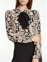 Somerset by Alice Temperley Button Through Blouse, Nude