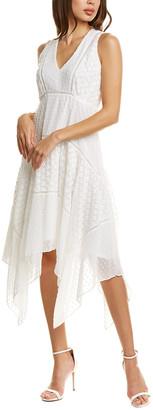 Taylor Handkerchief Midi Dress