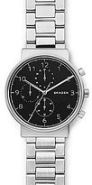 Skagen Ancher Chronograph Stainless Steel Bracelet Watch