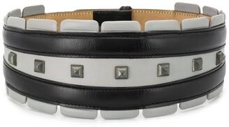 Alaïa Pre Owned 1990s Studded Wide Belt