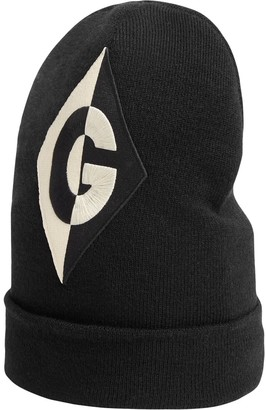 Gucci Embroidered Logo Beanie